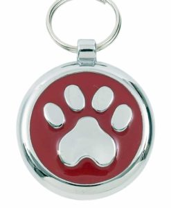 Tagiffany Smartie Paw Red Pet ID Tag