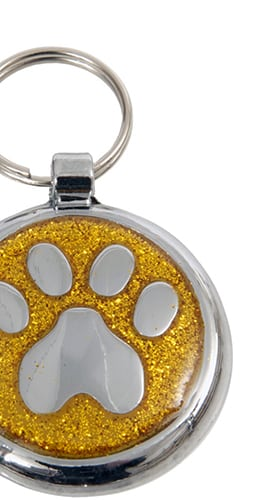 Shimmer Pet ID Tags